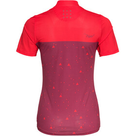 Triple2 Swet Recycled Poly Jersey Korte Mouwen Dames, beet red